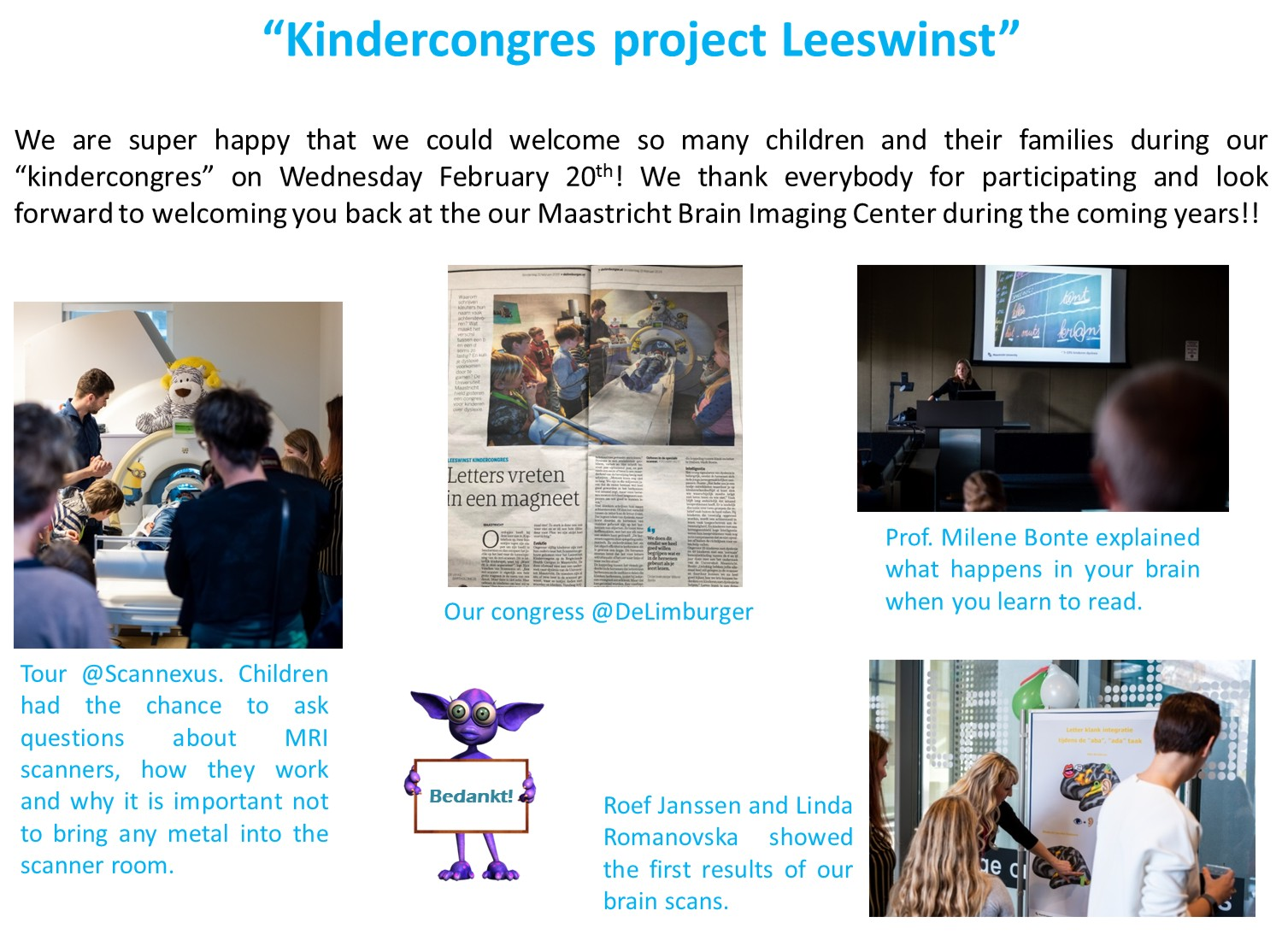 Kindercongres project Leeswinst_english